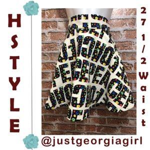Circle Skirt Peace Korean Kpop HSTYLE 10